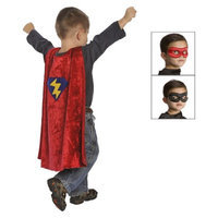 Little Adventures Hero Cape with Reversible Black/Red Mask