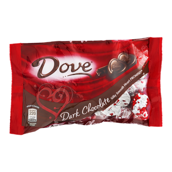 Dove Dark Chocolate Silky Smooth Heart Promises