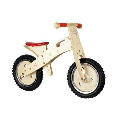 Smart Gear Girl's Balance Bike - Red