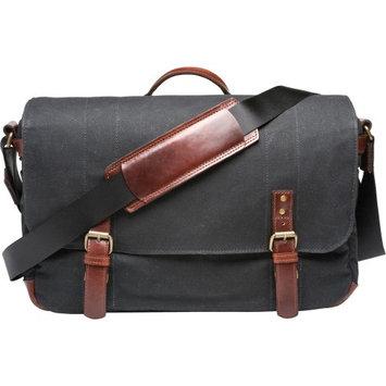 Ona The Union Street Camera and Laptop Messenger Bag - Black