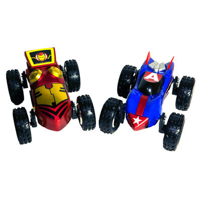 Playmakers Group Regenerators Iron Man and Captain America 1/24 Scale Car Set