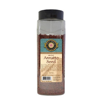 Spice Appeal Annatto Seed Whole, 16-Ounce Jars (Pack of 3)