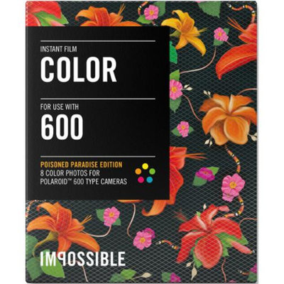 Impossible PRD3288 Color Instant Film (Poison Paradise Edition - Hibiscus) for 600-Type Cameras & Instant Lab