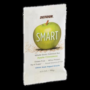 Detour SMART Whole Grain Oatmeal Bar Apple Cinnamon
