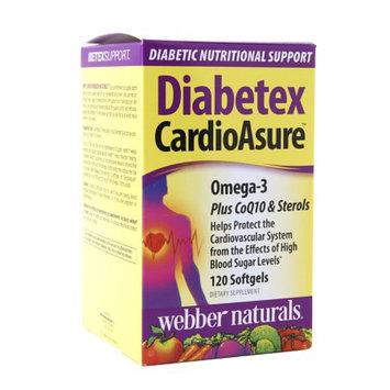 Diabetex CardioAsure Omega-3 Plus CoQ10 & Sterols Softgels, 120 ea