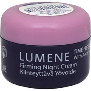 Lumene Time Freeze Firming Night Cream With Arctic Heather For Face & Neck, .05 oz