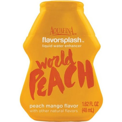 Aquafina FlavorSplash Liquid Water Enhancement World Peach Peach Mango
