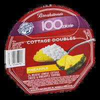 Breakstone's 100 Calorie Cottage Doubles Pineapple