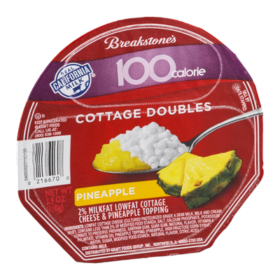 Breakstone's 100 Calorie Cottage Doubles Pineapple