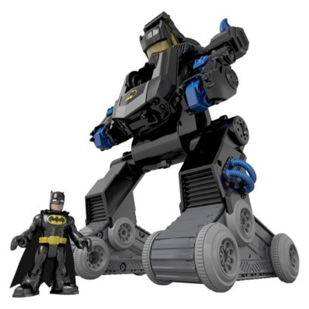 Fisher-Price Imaginext DC SuperFriends Bat Bot Toy Vehicle Set