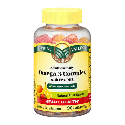 Spring Valley Adult Gummy Omega-3 Complex with EPA/DHA