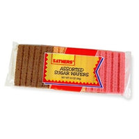 Sathers Farley Asstorted Sugar Wafers, 3.5000-Ounces (Pack Of 24)