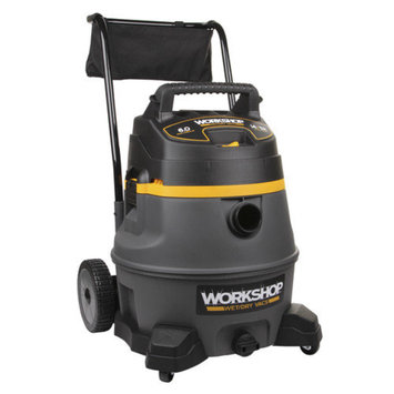 WORKSHOP Wet/Dry Vacs 14 Gallon 6.0 Peak HP High-Power Wet/Dry Vacuum