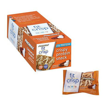 Promax Nutrition Fit 'n Crisp 13g Protein Snack Cinnamon Crunch