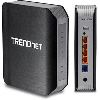 TRENDnet TEW-812DRU IEEE 802.11ac Wireless Router