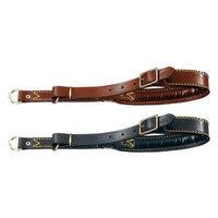 La Cinopelca Classic Locking Choke Collar Size: Small, Color: Brown