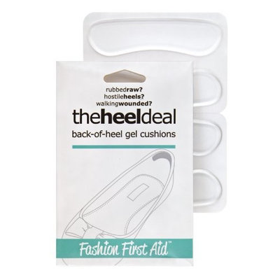 Solutions That Stick The Heel Deal: back-of-heel gel cushions