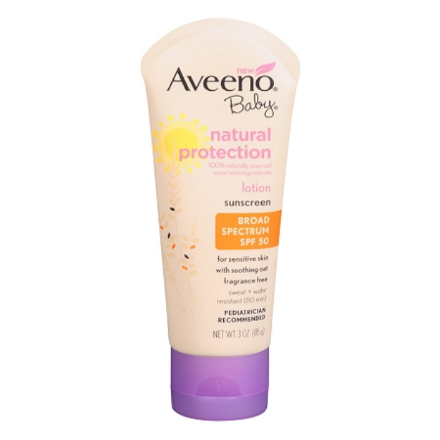 Aveeno Active Naturals Baby Natural Protection SPF 50+ Lotion