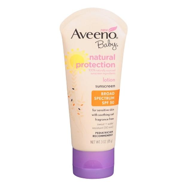 Aveeno Active Naturals Baby Natural Protection SPF 50+ Lotion