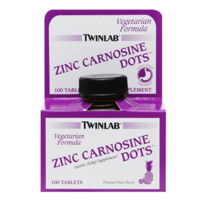Twinlab Zinc Carnosine Dots, Tropical Fruit, 100 ea
