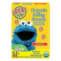 Earth's Best Sesame Street Organic Smiley Snacks Banana