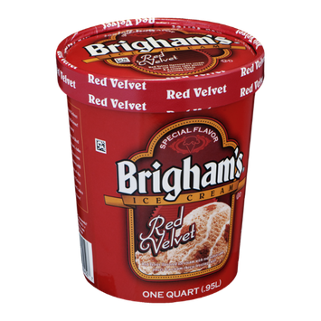 Brigham's Ice Cream Red Velvet