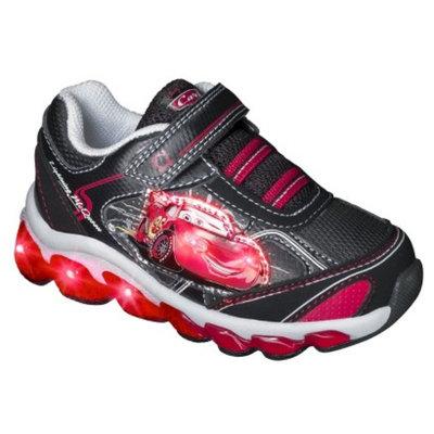Disney Toddler Boy's Cars Light Up Sneakers - Black 6