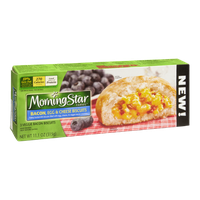 Morning Star Farms Bacon, Egg & Cheese Veggie Bacon Biscuits - 3 CT