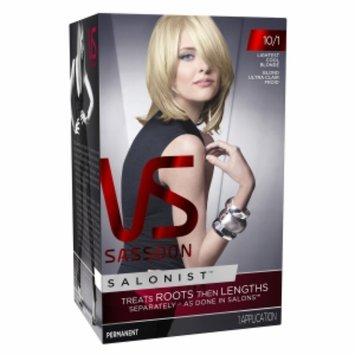 Vidal Sassoon Salonist Hair Colour Permanent Color, 10/1 Lghtst Cool Blnde, 1 set