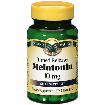 Spring Valley Timed Release Melatonin Sleep Support 10mg