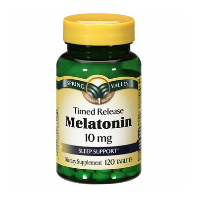 Spring Valley Timed Release Melatonin Sleep Support 10mg