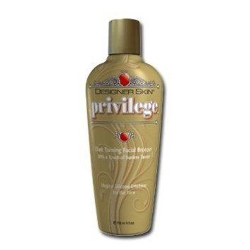 Designer Skin Privlege Dark Facial Bronzer Privilege Face Tanning Lotion Fragrance Free 4 oz
