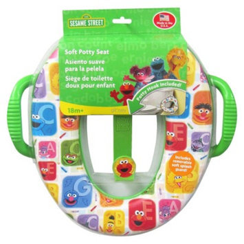 Ginsey Sesame Street Soft Potty with Hook