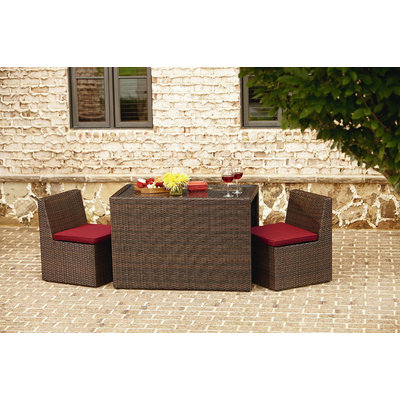 Brown Jordan International Brody 3 Piece Bistro Set
