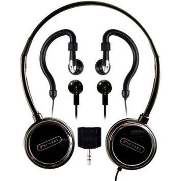 Sentry Industries, Inc. HO894 Headphone with 2-Way Splitter Plug - 3 Pack