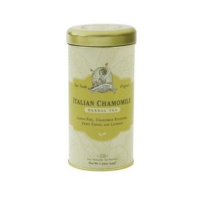 Zhena's Gypsy Tea, Italian Chamomile, 22-Count Tea Sachets (Pack of 6)