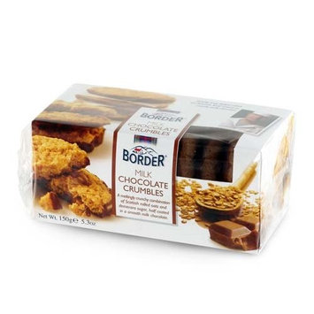 Borders Choc Crumbles 150gs
