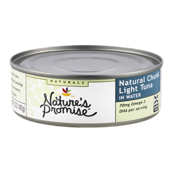 Nature's Promise Naturals Tuna Chunk Light in Water