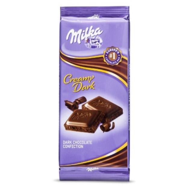 Mondelez 3.52 oz MILKA Chocolate Candy Bars