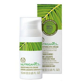 The Body Shop Nutriganics Smoothing Eye Cream, .5 fl oz