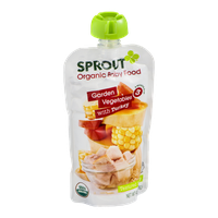 Sprout Organic Baby Food Garden Vegetables with Turkey
