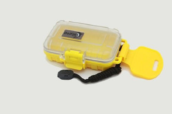 Dolfin Box 5010 Waterproof Hard Case, Yellow and Clear