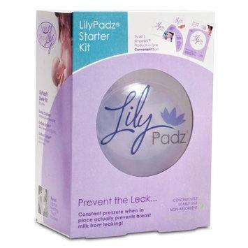 LilyPadz Reusable Silicone Nursing Pads Starter Kit Single Pair Large Size