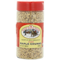 Shady Maple Farms Organic Maple Sugar, Chunks, 8.8-Ounce Bottle (Pack of 3)
