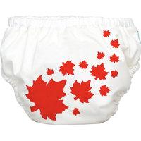 Winc Design Limited Charlie Banana Extraordinary Training Pants, Maple Leaf on White