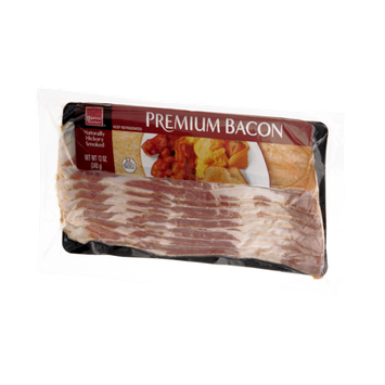 Harris Teeter Premium Bacon Naturally  Hickory Smoked