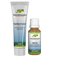 Native Remedies ClearSkin-E Cream and Skin Dr. ComboPack