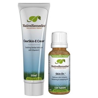 Native Remedies ClearSkin-E Cream and Skin Dr. ComboPack