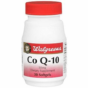 Walgreens CoQ-10 50mg Softgels