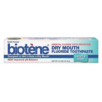 Biotene Dry Mouth Fluoride Toothpaste Gentle Mint